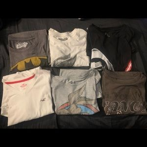 6 Shirts For One Price